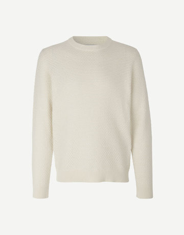 Samsoe Samsoe Loke Sweater Cream