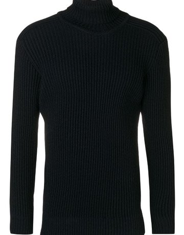 S.N.S. Herning S.N.S. Herning Fang High Neck Navy Blue Knit