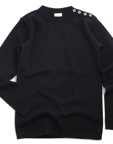S.N.S. Herning S.N.S. Herning Rund Naval Crew Neck Navy Sweater
