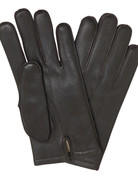 Mazzoleni Mazzoleni Lamb Cashmere Gloves Dark Brown