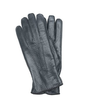 Mazzoleni Mazzoleni Lamb Moro-Cashmere Gloves Navy