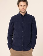 Harris Wilson Harris Wilson Levi Navy Corduroy Shirt Button Up