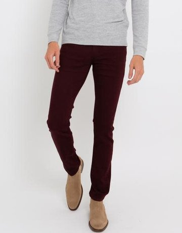 Paige Jeans Paige Denim Lennox Dark Ruby Slim