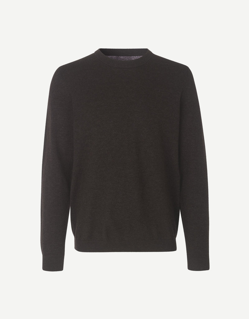 Samsoe Samsoe Gees Wool Sweater Brown