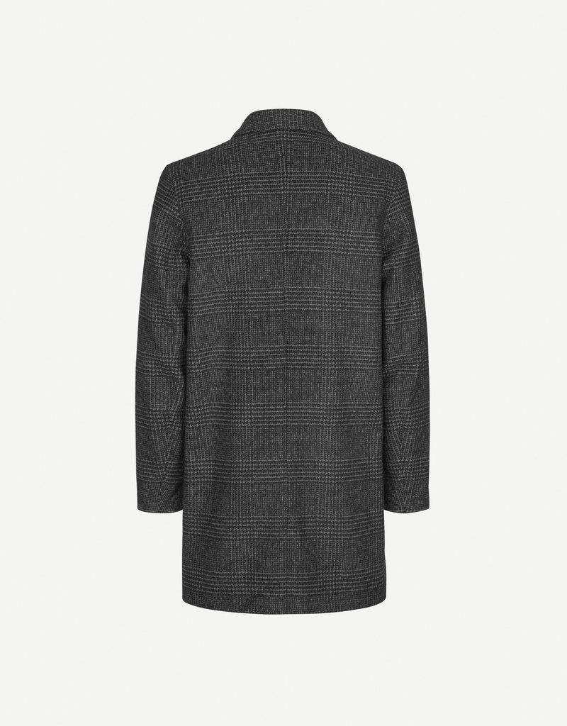 Samsoe Samsoe Grin Coat Black Check