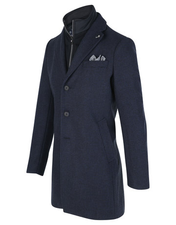 Blue Industry Blue Industry Navy Top Coat