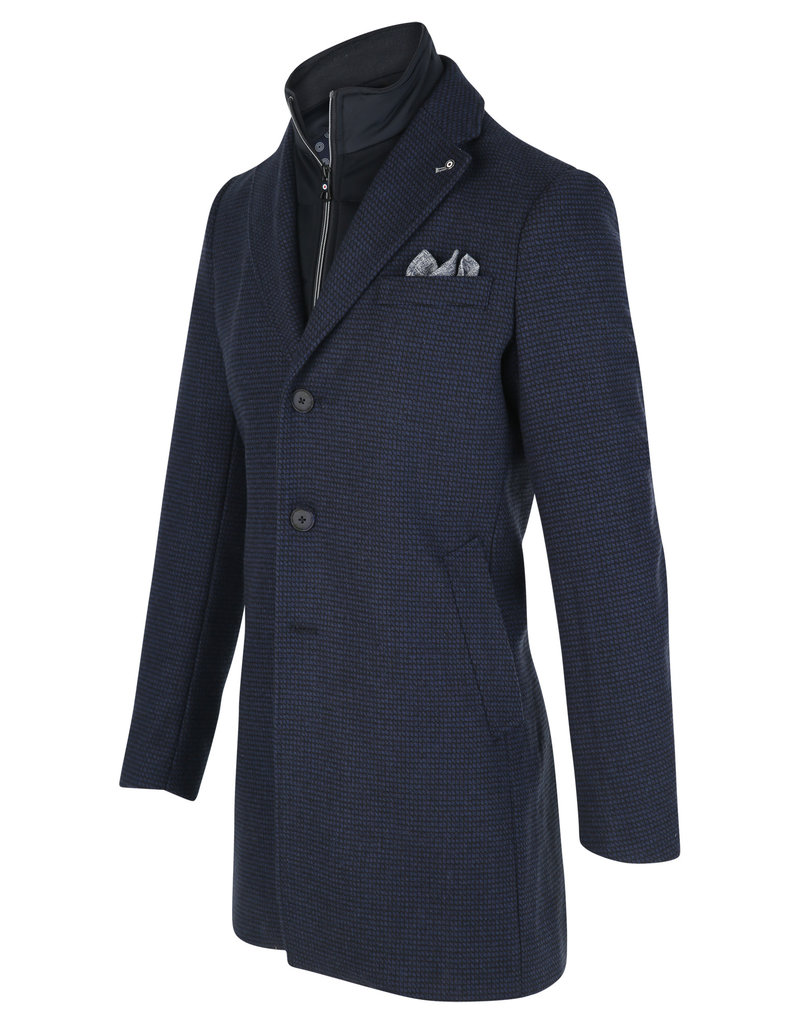 Blue Industry Blue Industry Navy Top Coat