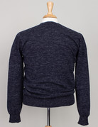 Inis Meain Inis Meain Donegal Crew Neck Sweater Blue