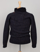 Inis Meain Inis Meain Donegal Sweater Black