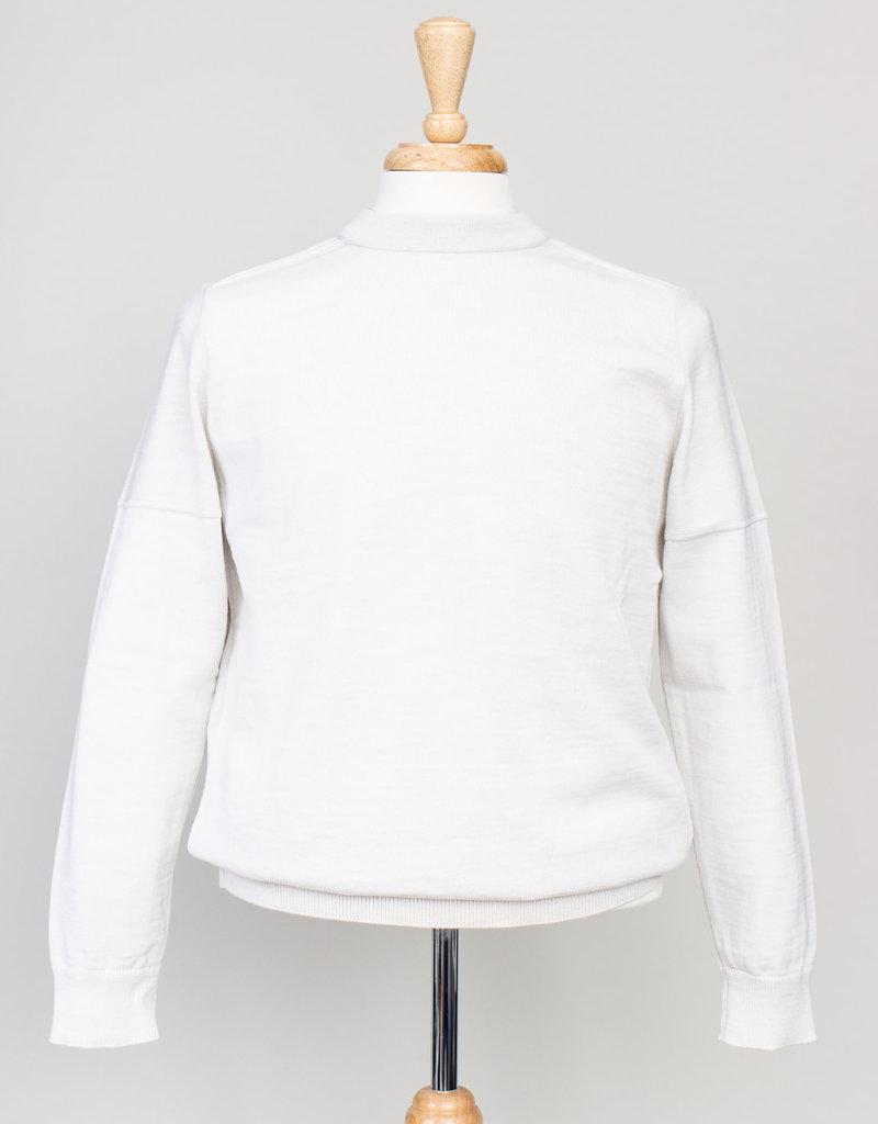 S.N.S. Herning S.N.S. Herning Fatum Crew Neck White Sweater