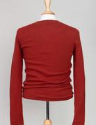 Harris Wilson Harris Wilson Jacem Orange Henley Shirt