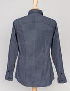 Desoto Desoto Long Sleeve Black Graph Check Shirt