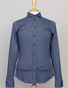 Desoto Desoto Long Sleeve Heather Navy Shirt
