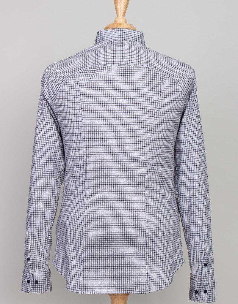 Desoto Desoto Long Sleeve Grey Graph Check