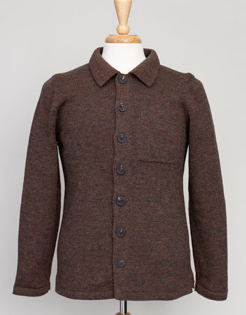 Inis Meain Inis Meain Plated Jacket Brown