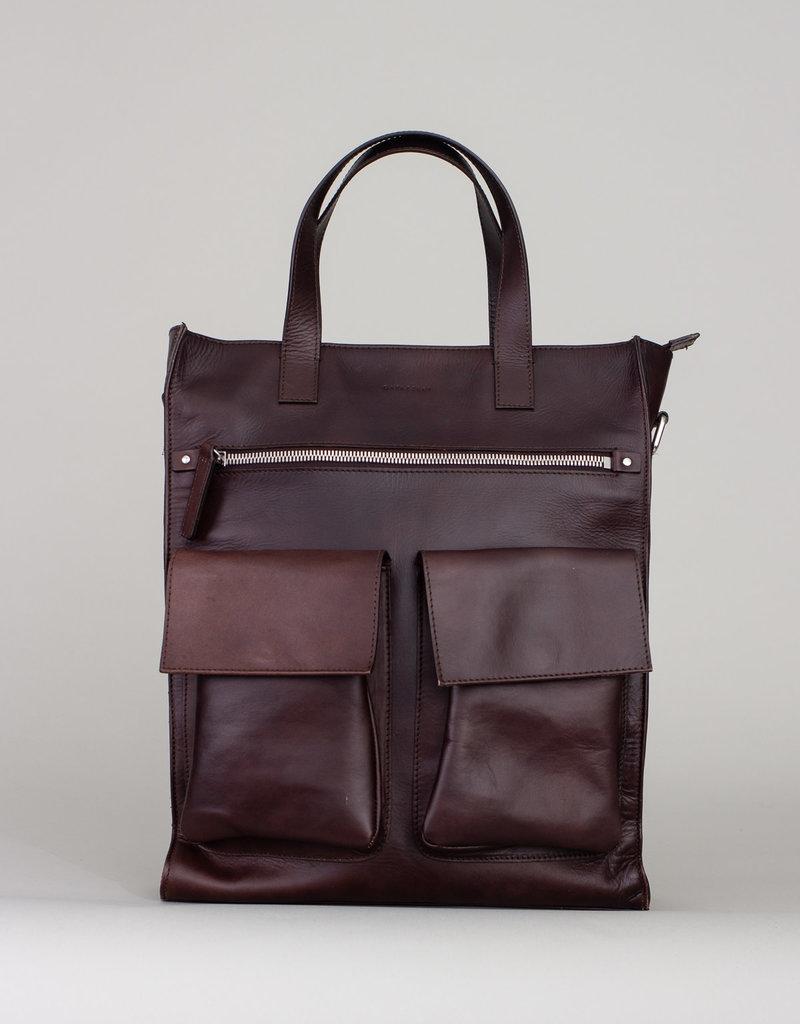 Gavazzeni Gavazzeni Satchel Bag Dark Brown