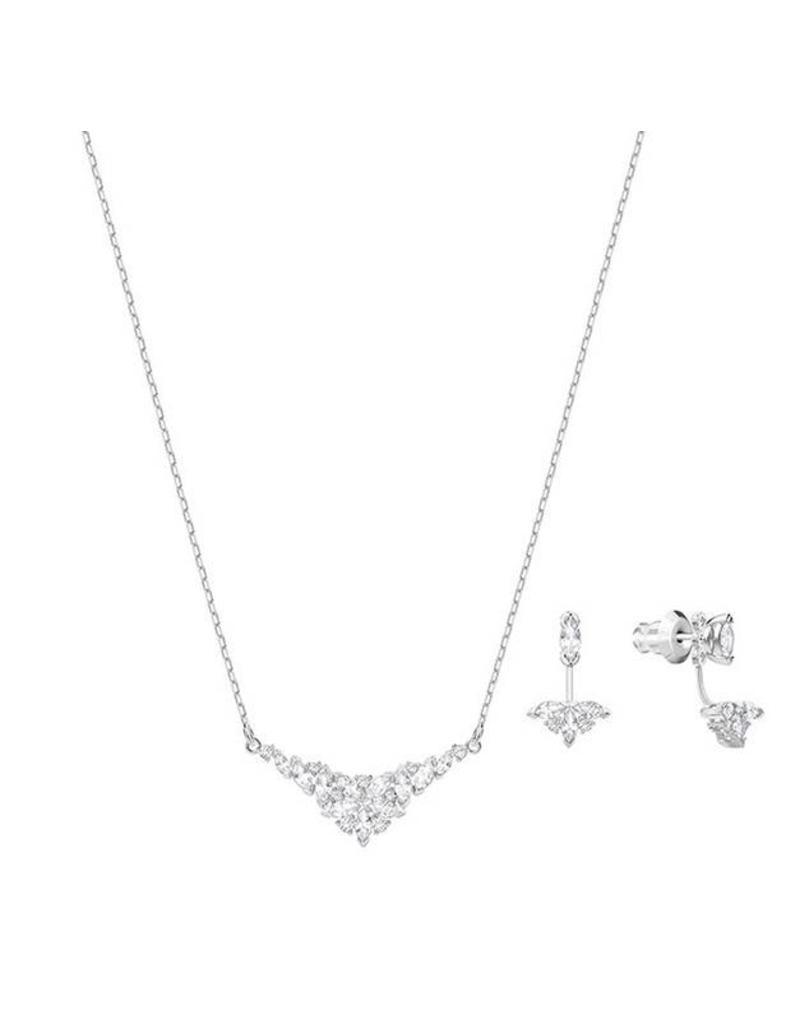 Swarovski Lady Necklace Earrings Set