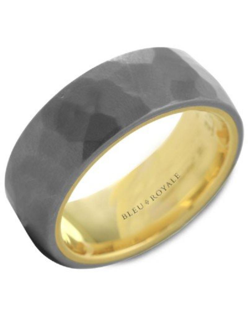 Crown Ring Tantalum & 14KY Ring (Bleu Royale)