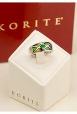Korite Estrella Ammolite Ring SS