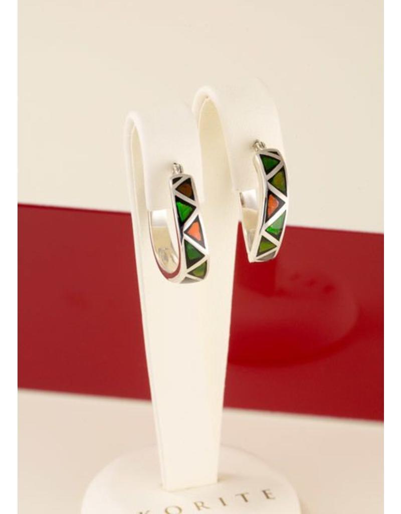 Korite Farrah Ammolite Earrings SS