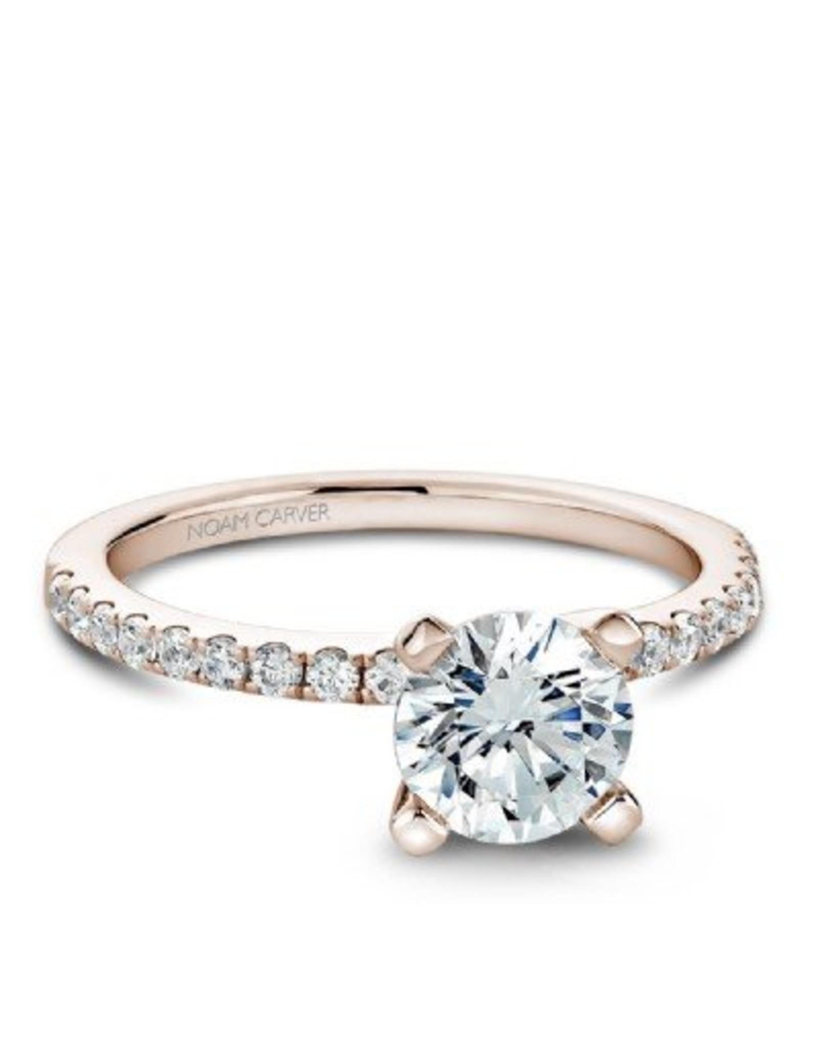 Noam Carver Diamond Semi-Mount by Noam Carver 14KR