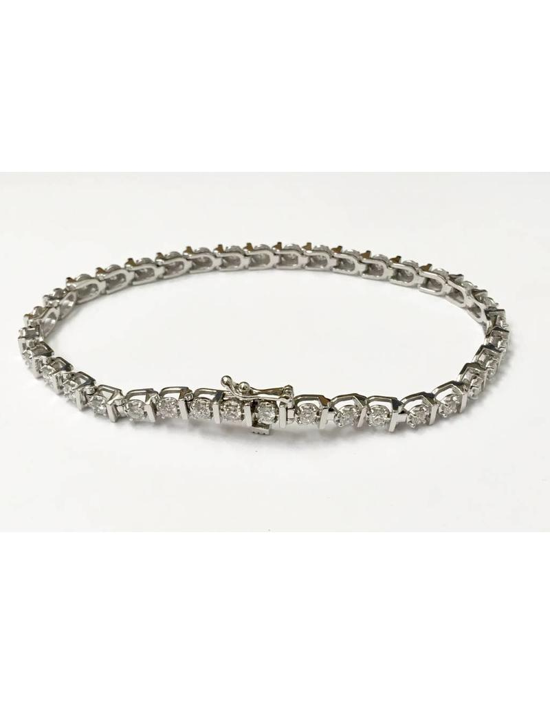 Diamond Tennis Bracelet (2.00ctw) 10KW