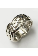 """Keith Jack Eternity Knot """"Gowan"""" Ring SS"""