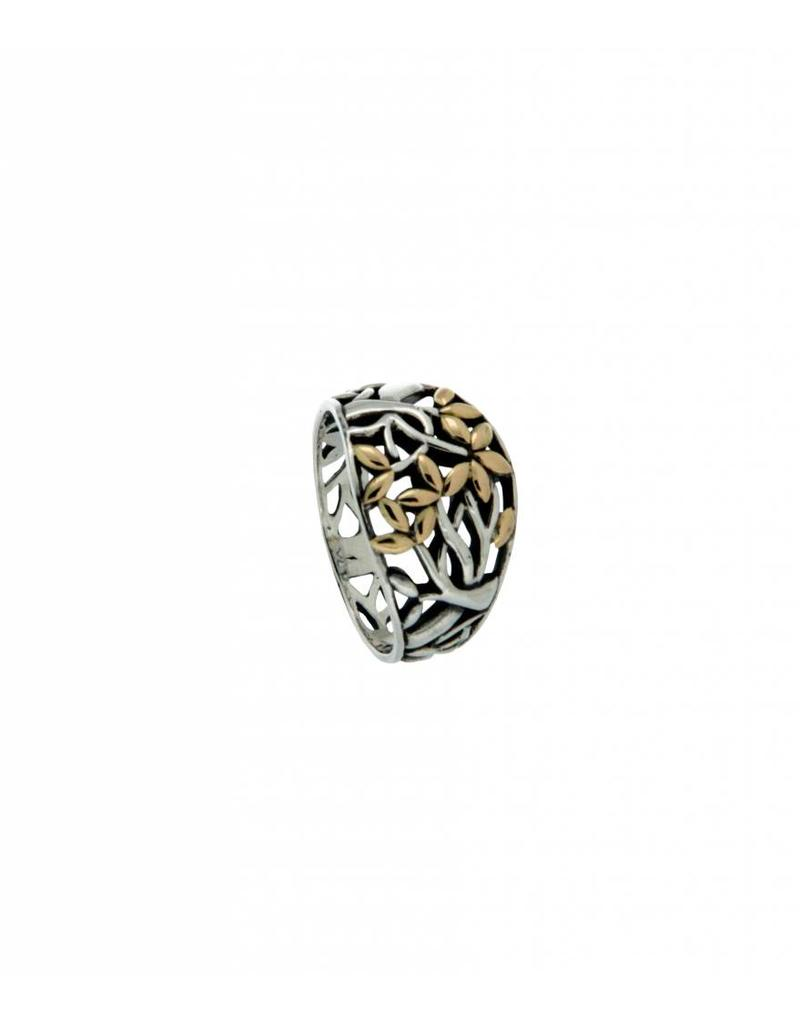 Keith Jack Tree of Life Ring SS/18KY