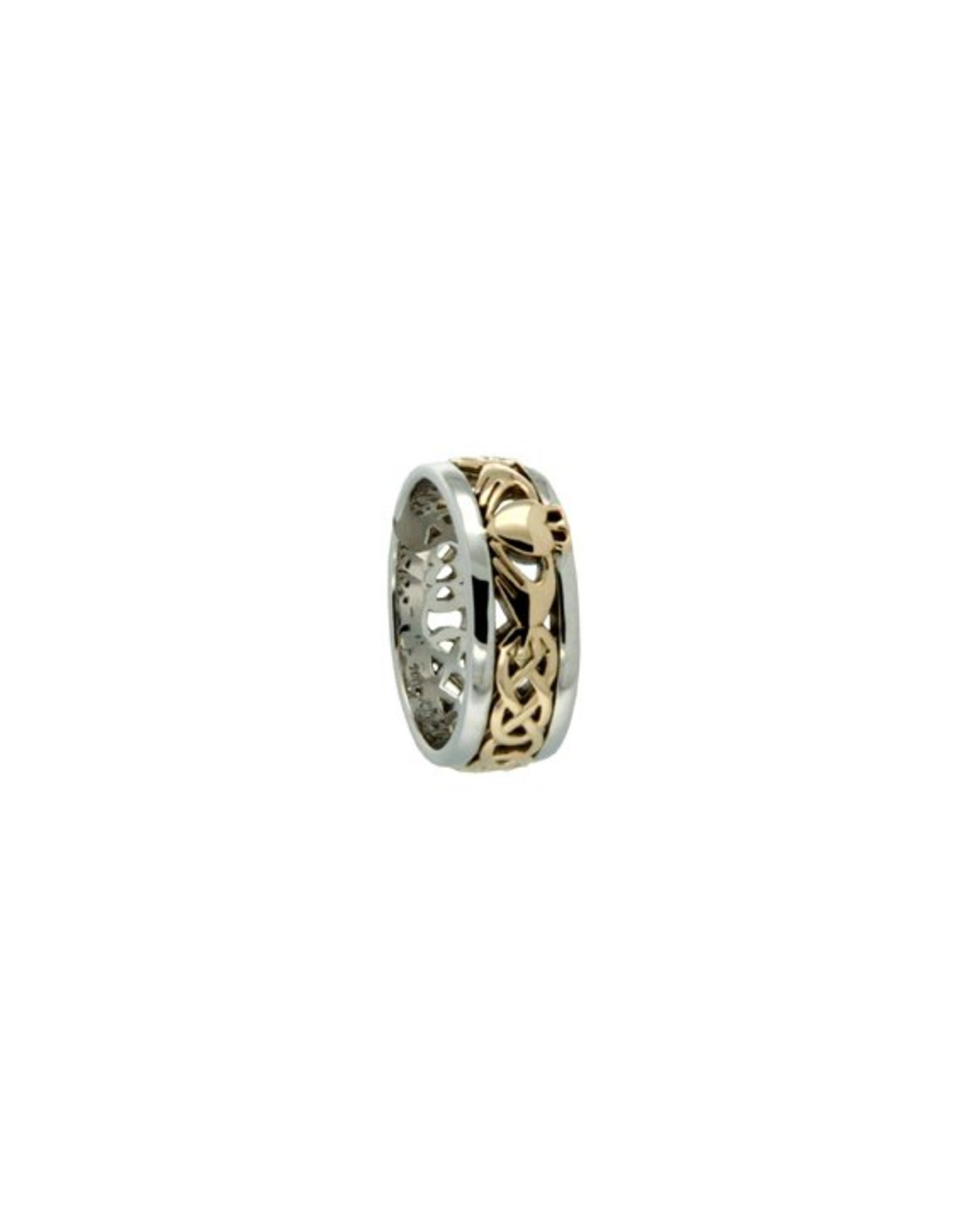 Keith Jack Claddagh Ring SS/10KY