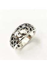 Keith Jack Claddagh Ring SS