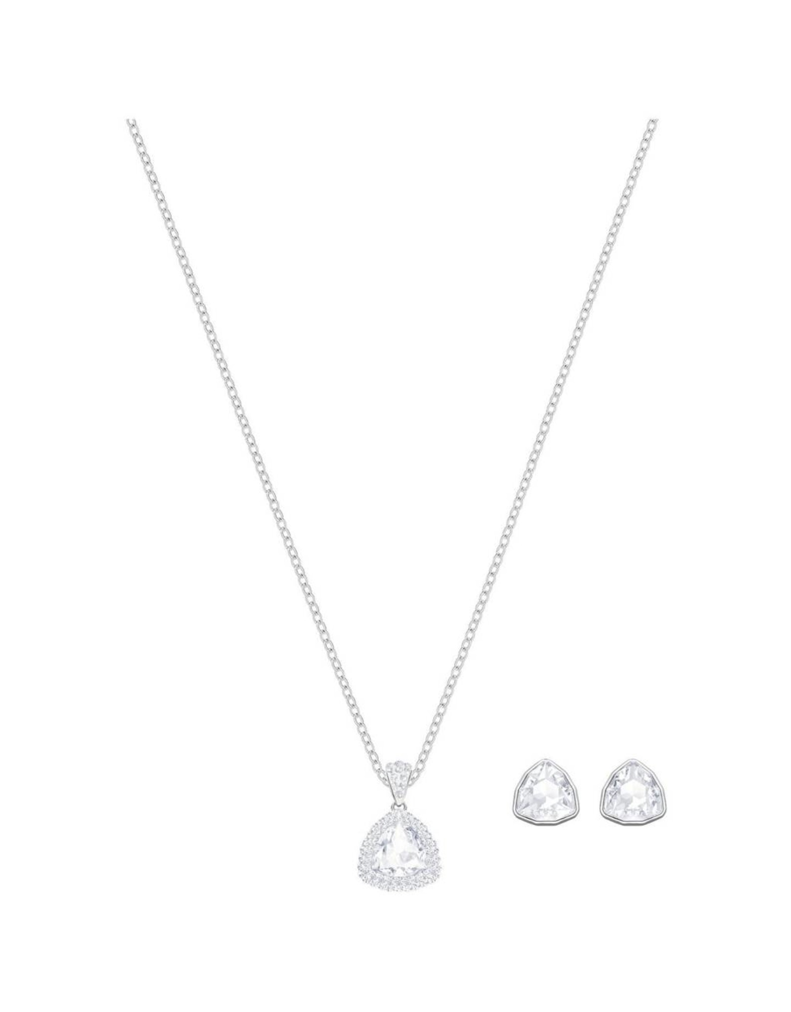 Swarovski Swarovski Begin Pendant & Earrings Set