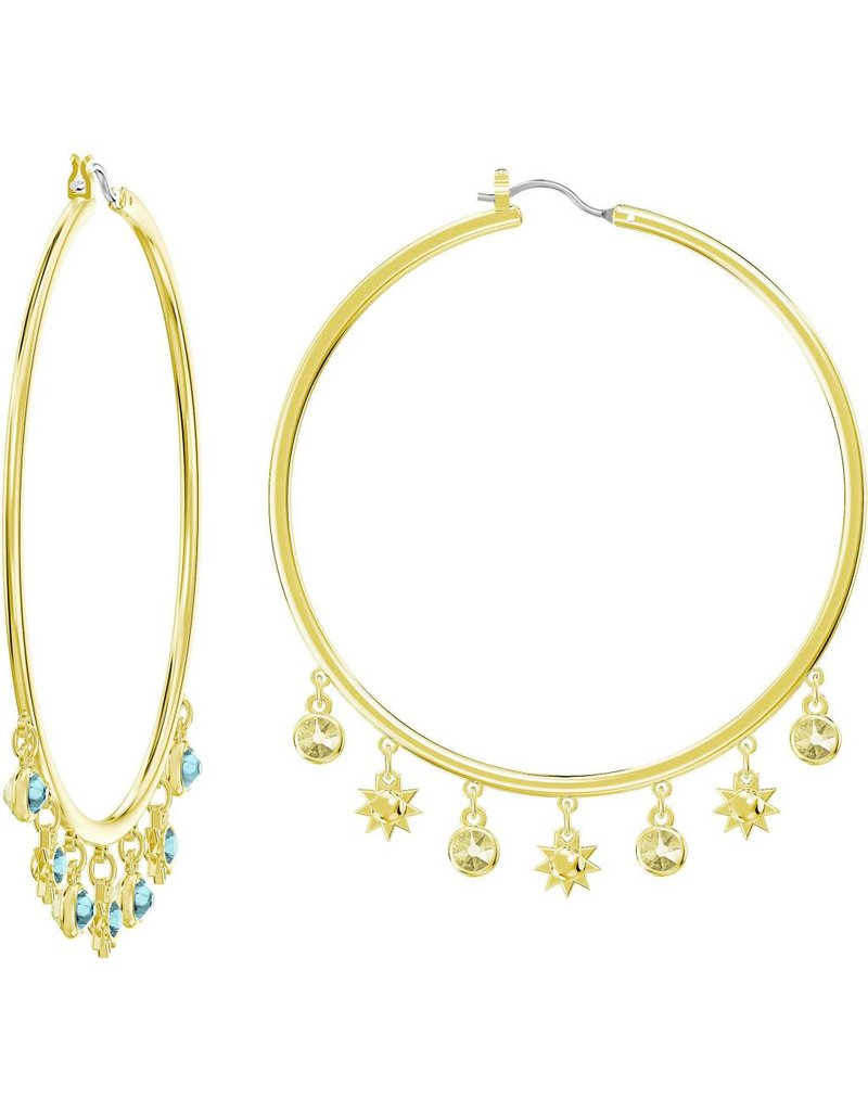 Swarovski Last Summer Hoop Earrings