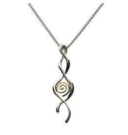 Keith Jack Spiral Twist Pendant