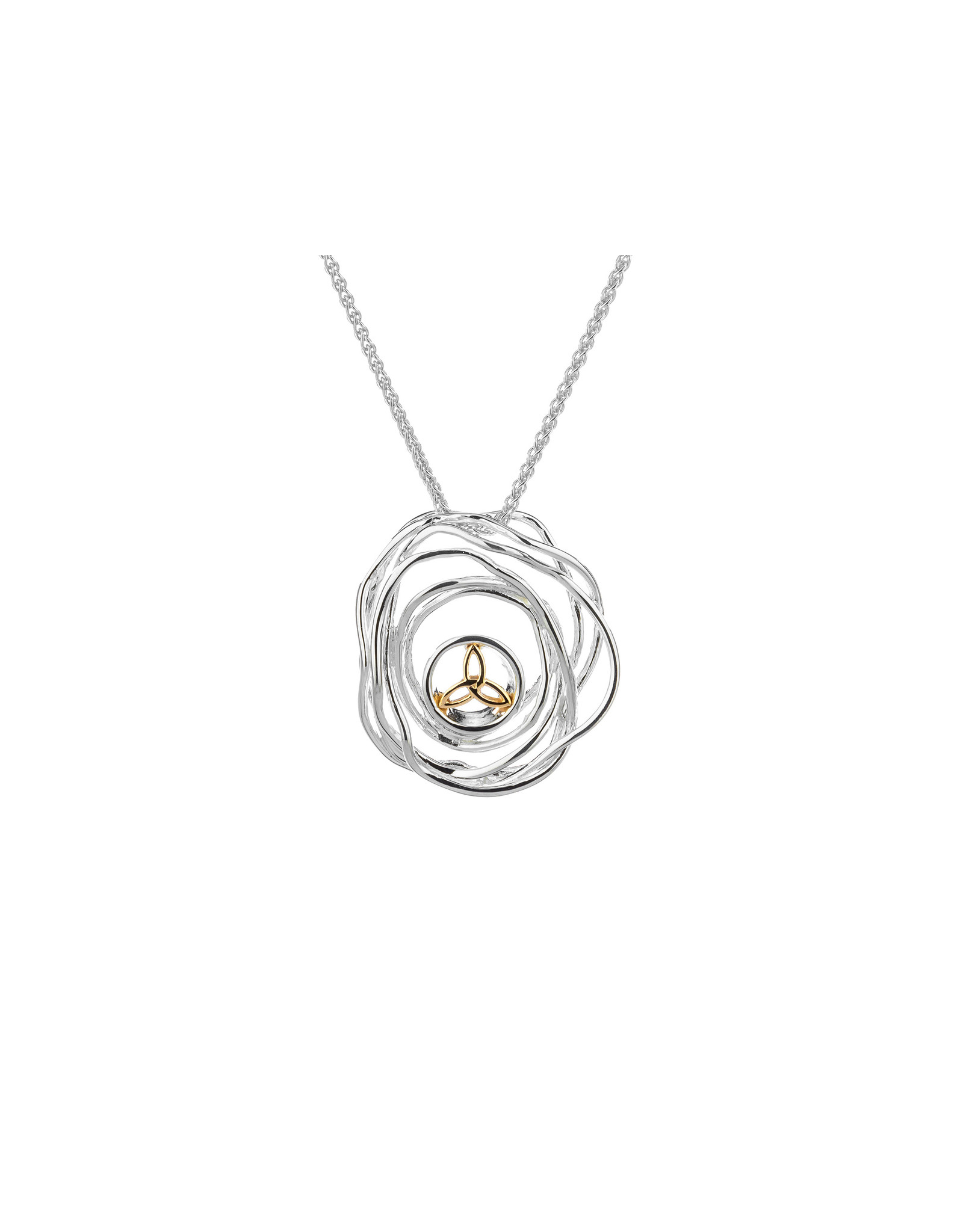 Keith Jack Cradle of Life Pendant SS/10KY