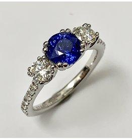 Noam Carver Sapphire & Diamond Ring