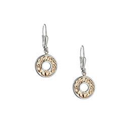 Keith Jack Claddagh Dangle Earrings