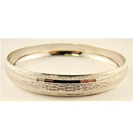 10.3mm Domed Round Bangle