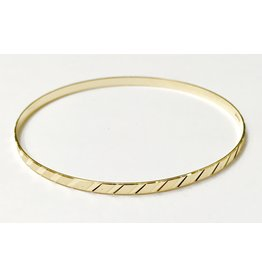3.2mm Fancy Cut Bangle
