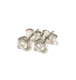 Forever One Moissanite Studs
