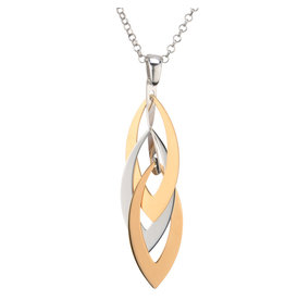 Frederic Duclos Marquise Layers Necklace