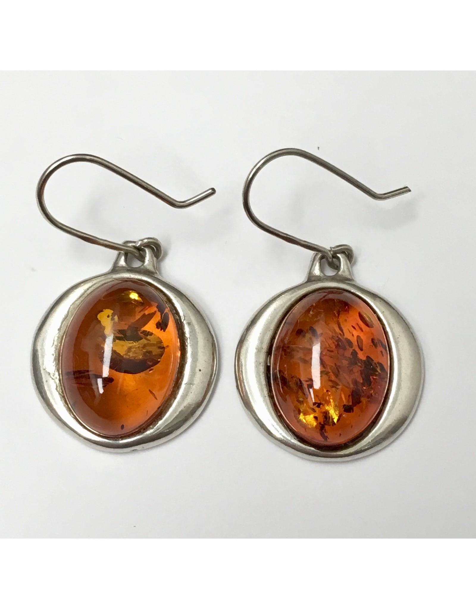 Baltic Amber Earrings SS