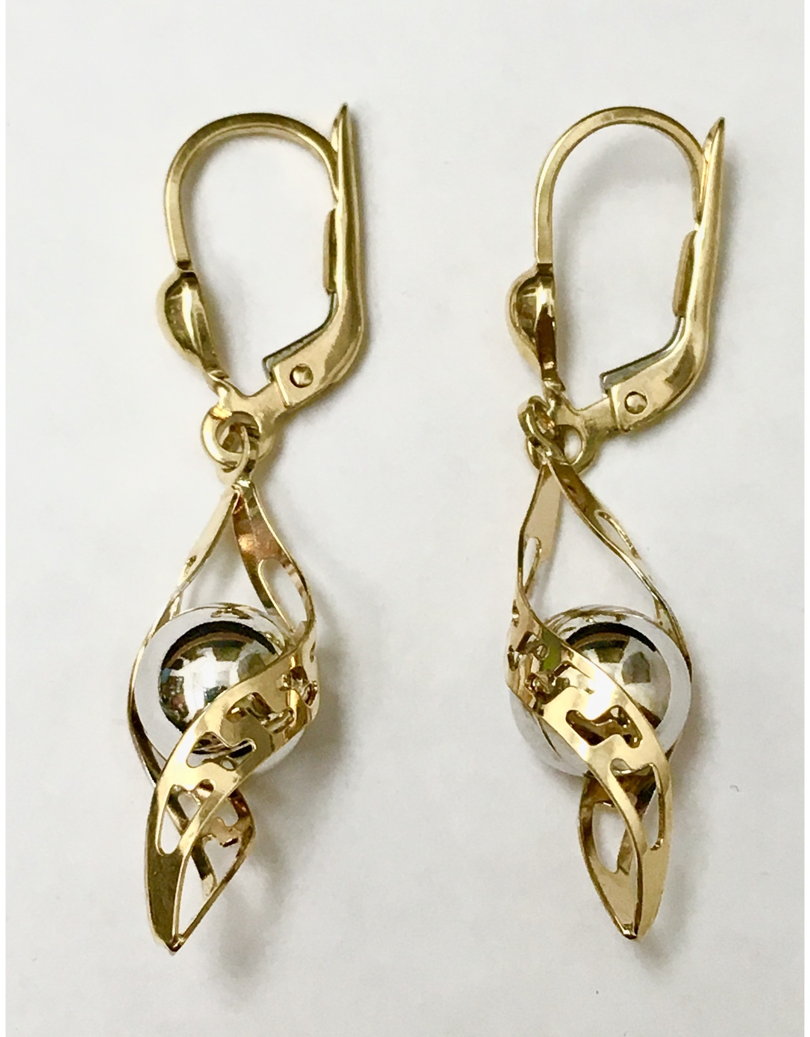 Fancy Dangle Earrings 10KWY
