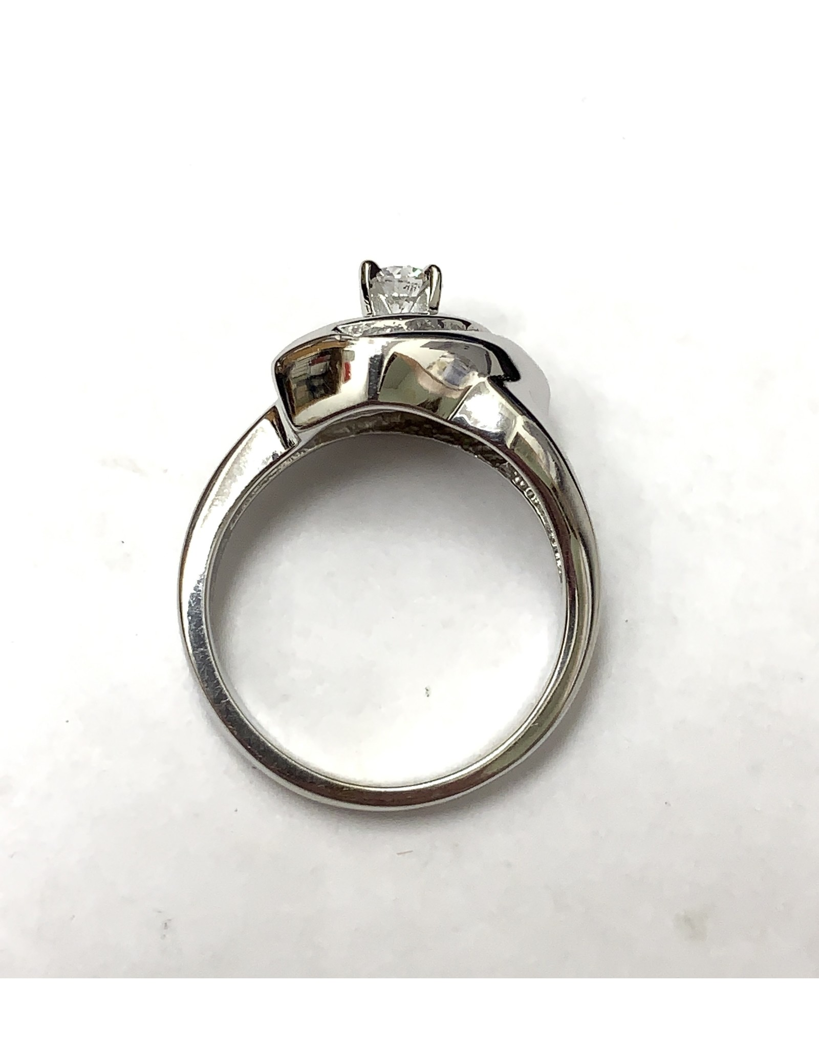 0.33ctw Custom Diamond Ring 14KW