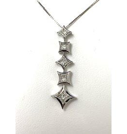 0.33ctw Dangle Diamond Pendant