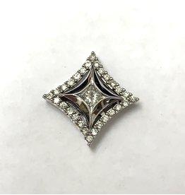 0.33ctw Star Diamond Pendant