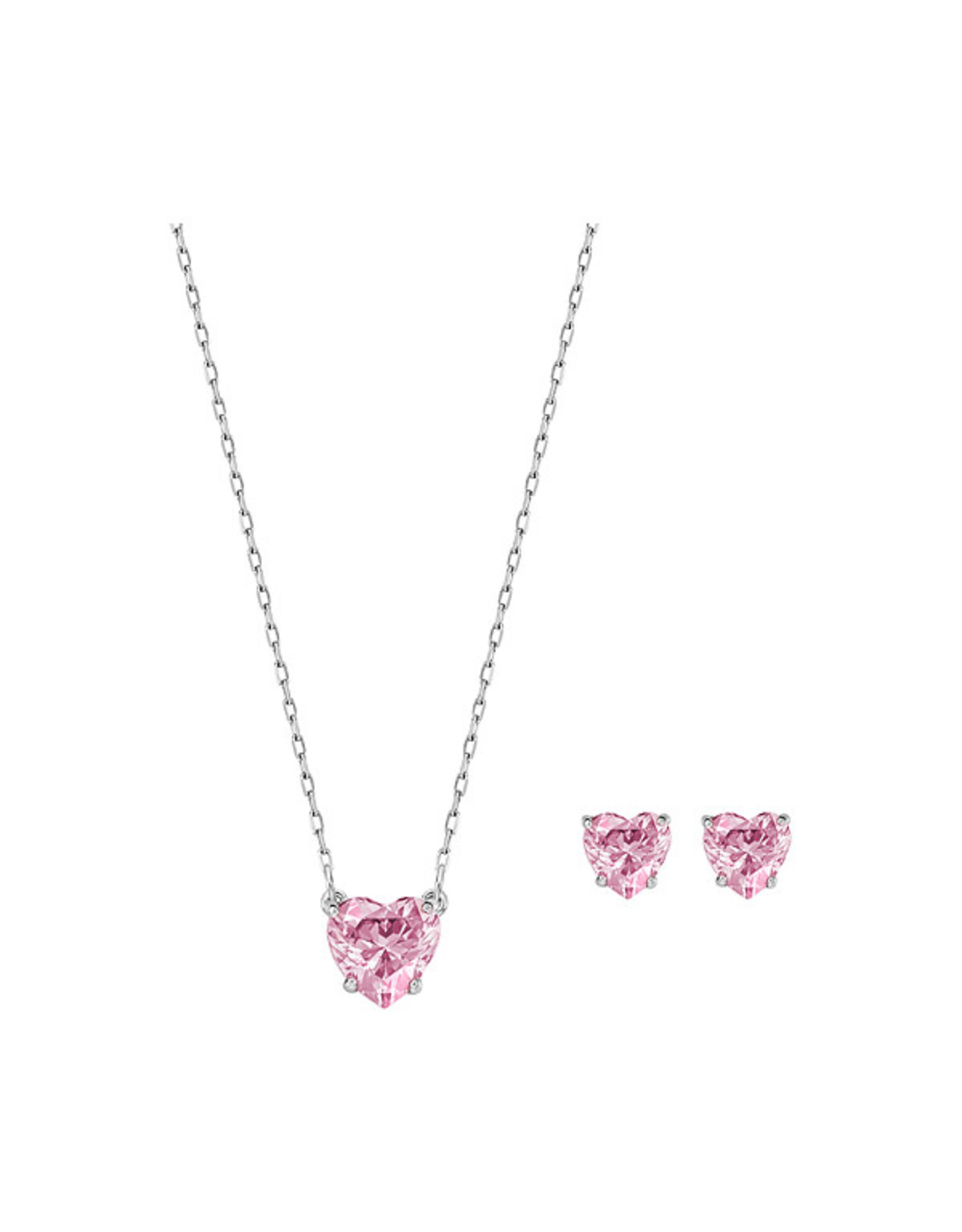 Swarovski Swarovski Attract Heart Necklace & Earrings Set