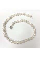 Freshwater (8.5-9mm) Pearl Necklace 14KW