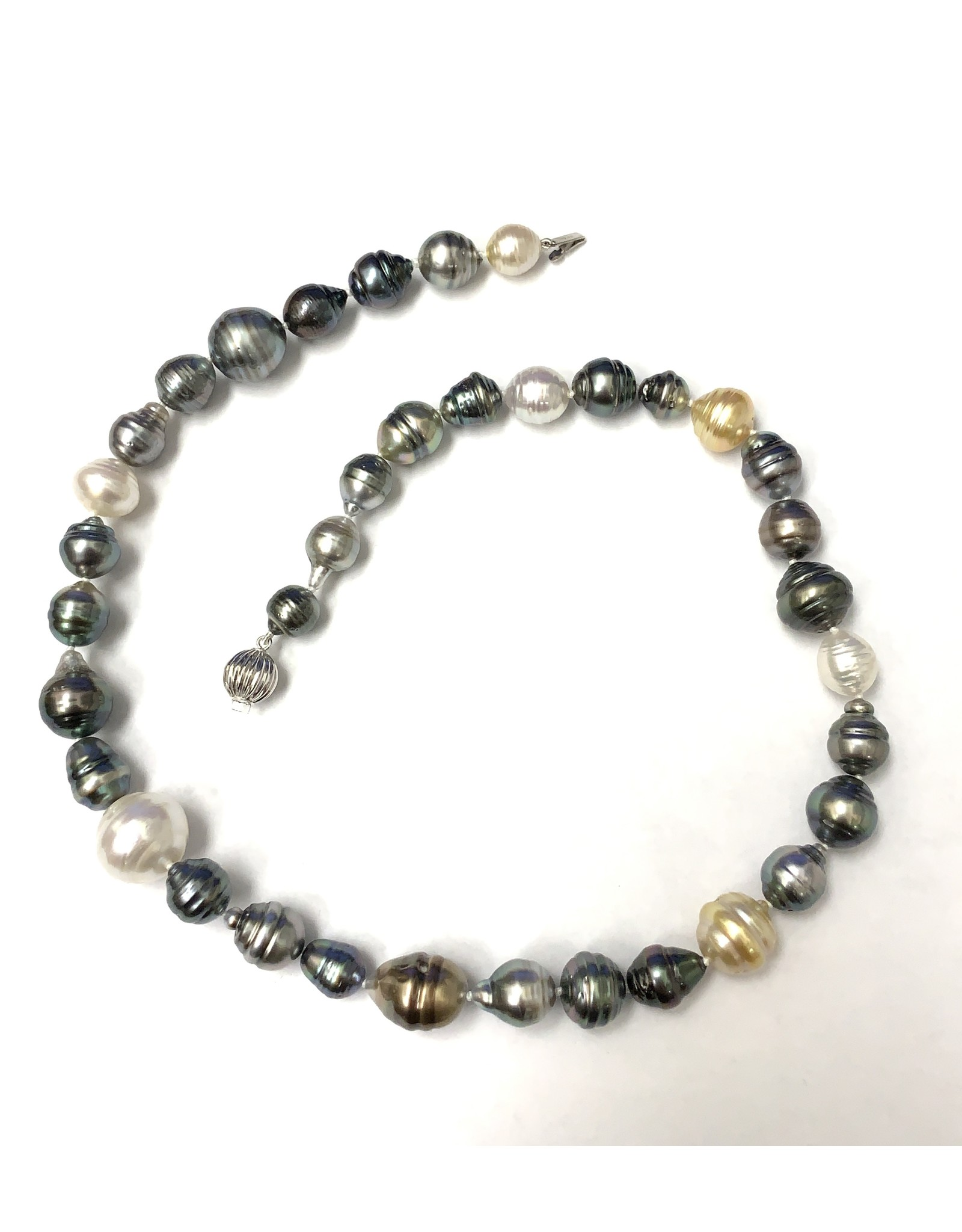 Tahitian & South Sea (8-14mm) Pearl Strand 14KW