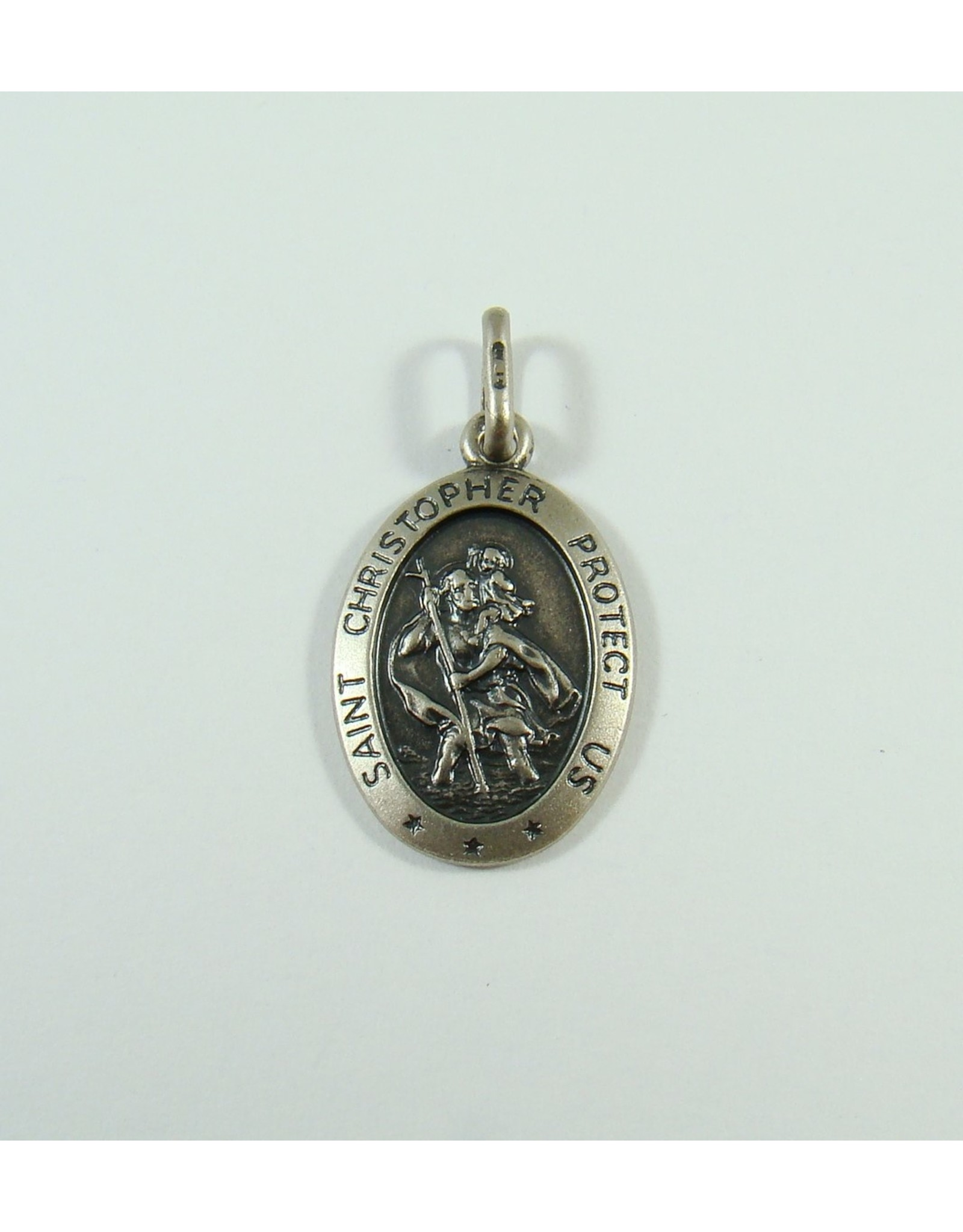 17 x 12mm Saint Christopher Pendant