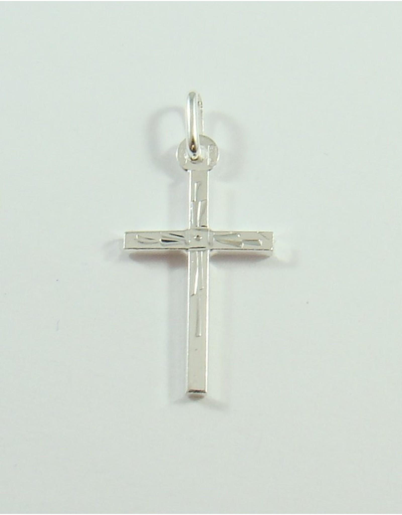 21 x 13mm Cross Pendant SS